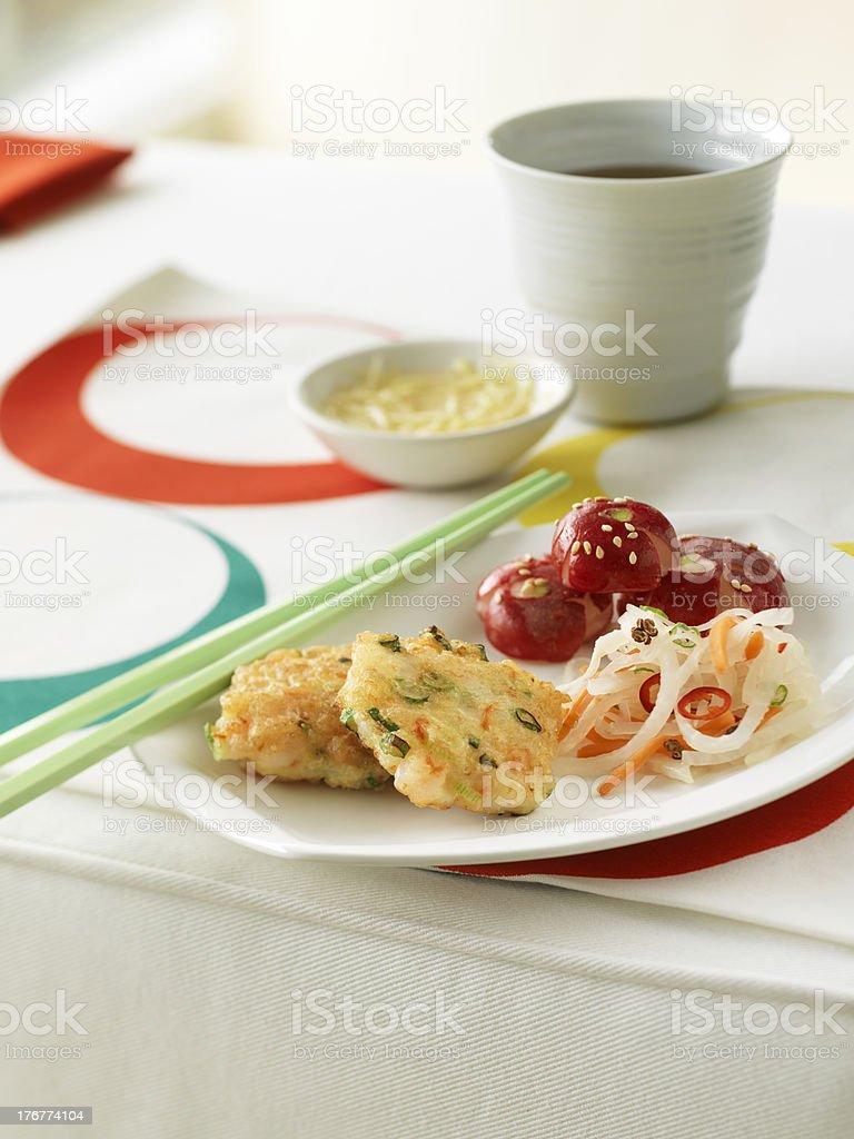Shrimp Cakes royalty-free stock photo