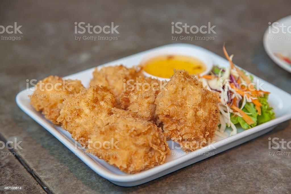 Shrimp Cakes stock photo