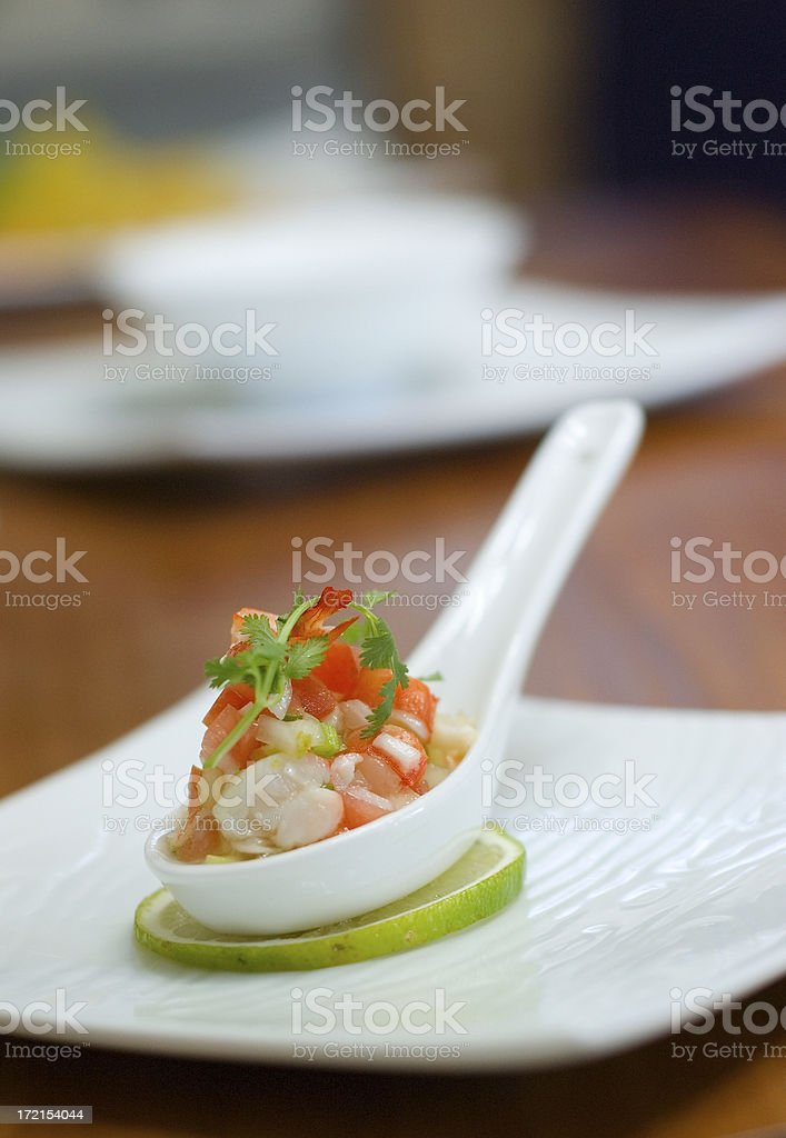 Shrimp Ceviche stock photo