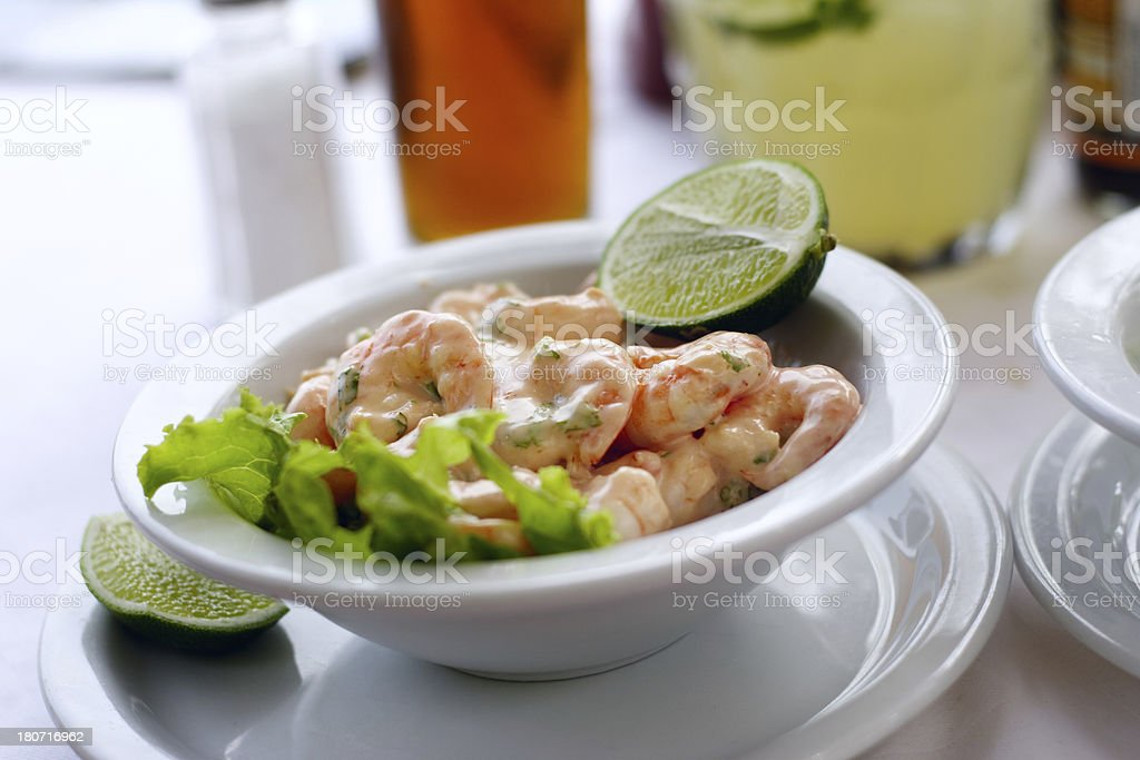 Shrimp Cocktail royalty-free stock photo