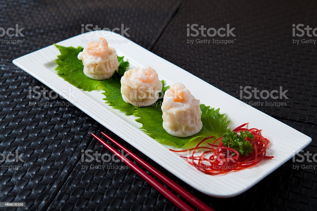 Shrimp Dim Sum stock photo