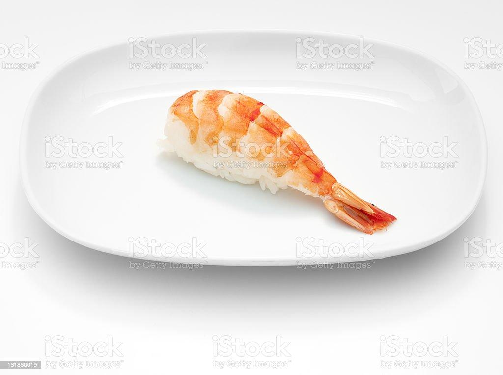 Shrimp nigri royalty-free stock photo