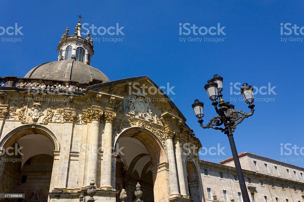 Shrine and Basilica of Loyola stock photo