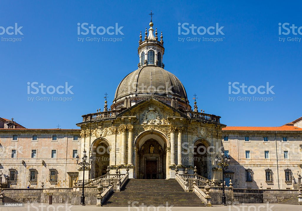 Shrine and Basilica of Loyola stock photo