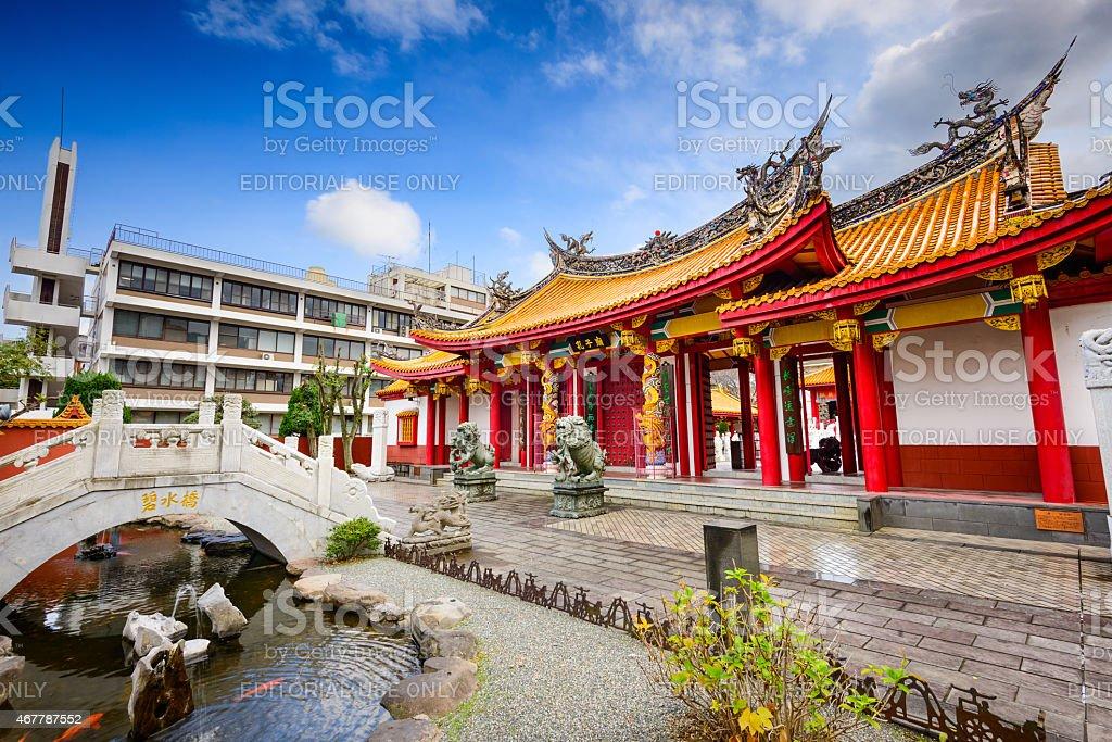 Shrine in Nagasaki stock photo