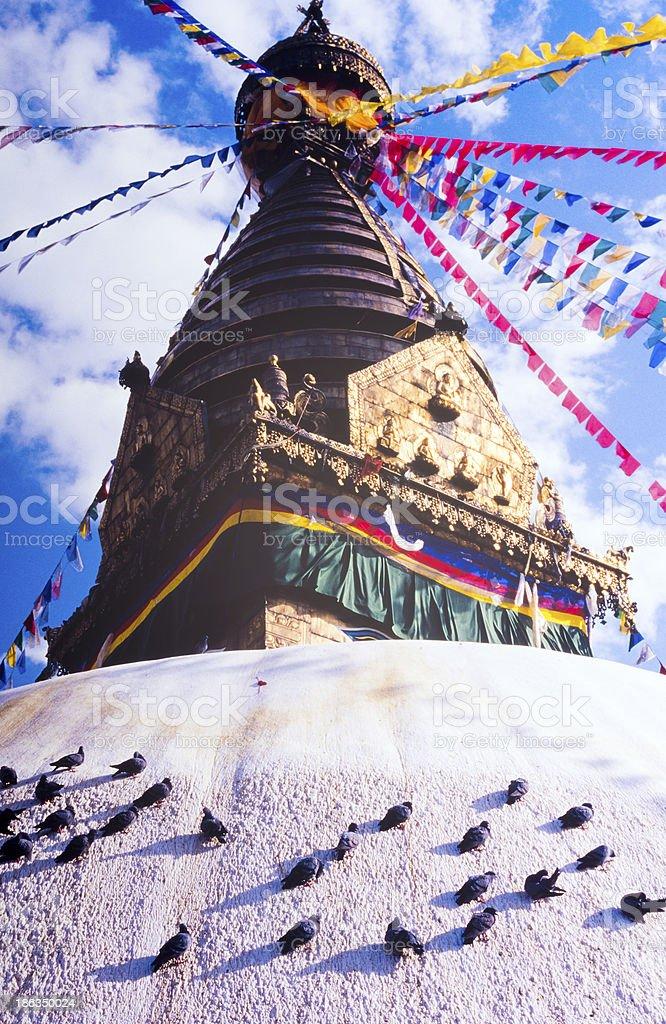 Shrine in Nepal royalty-free stock photo