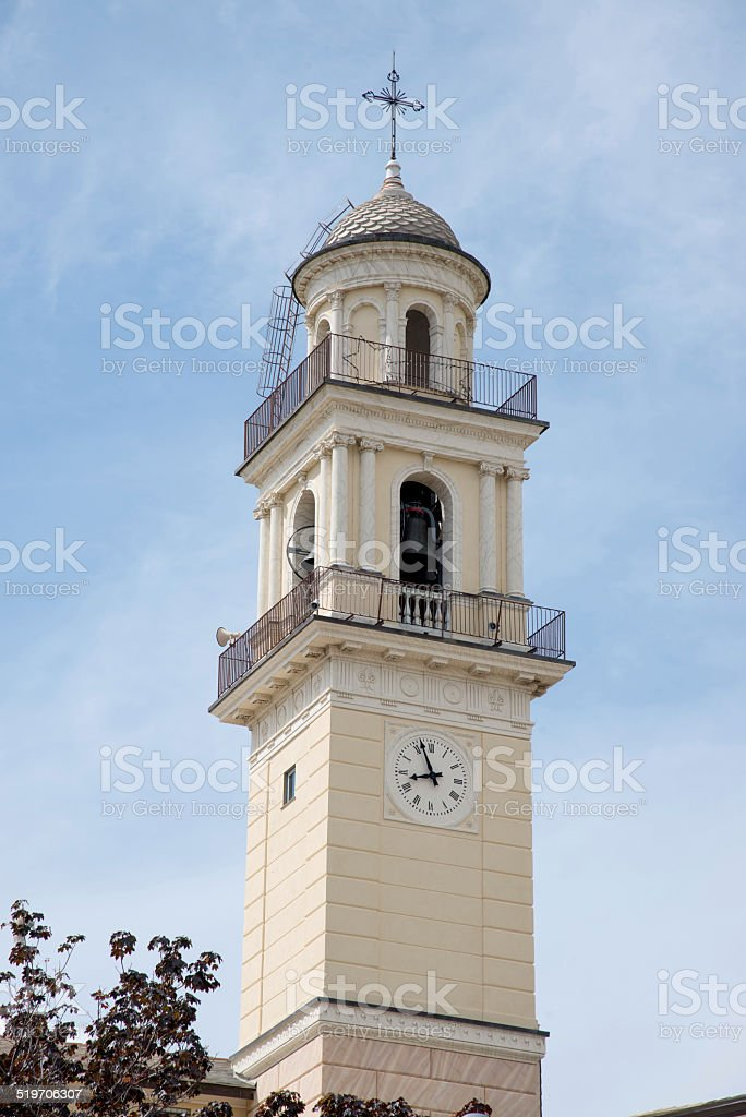 Shrine of Crowned, Genoa - Italy royalty-free stock photo