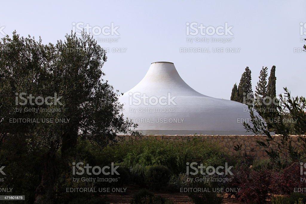 Shrine of the Book. Jerusalem. Israel royalty-free stock photo