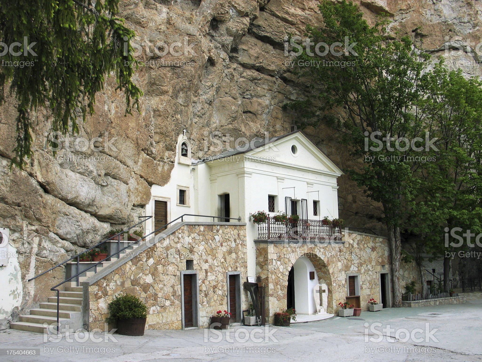 Shrine of the Most Holy Trinity royalty-free stock photo