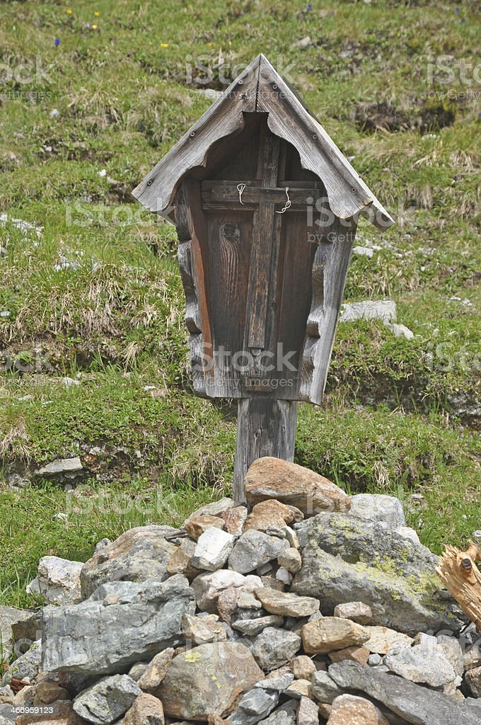 Shrine stock photo