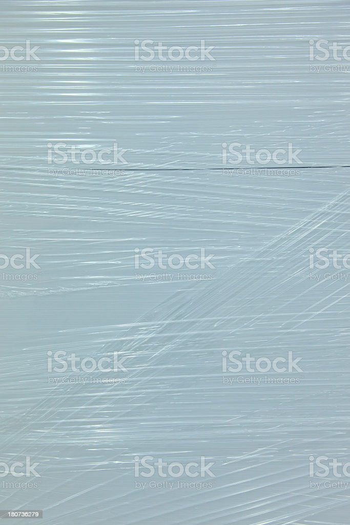 Shrink-Wrapped Plastic Texture stock photo