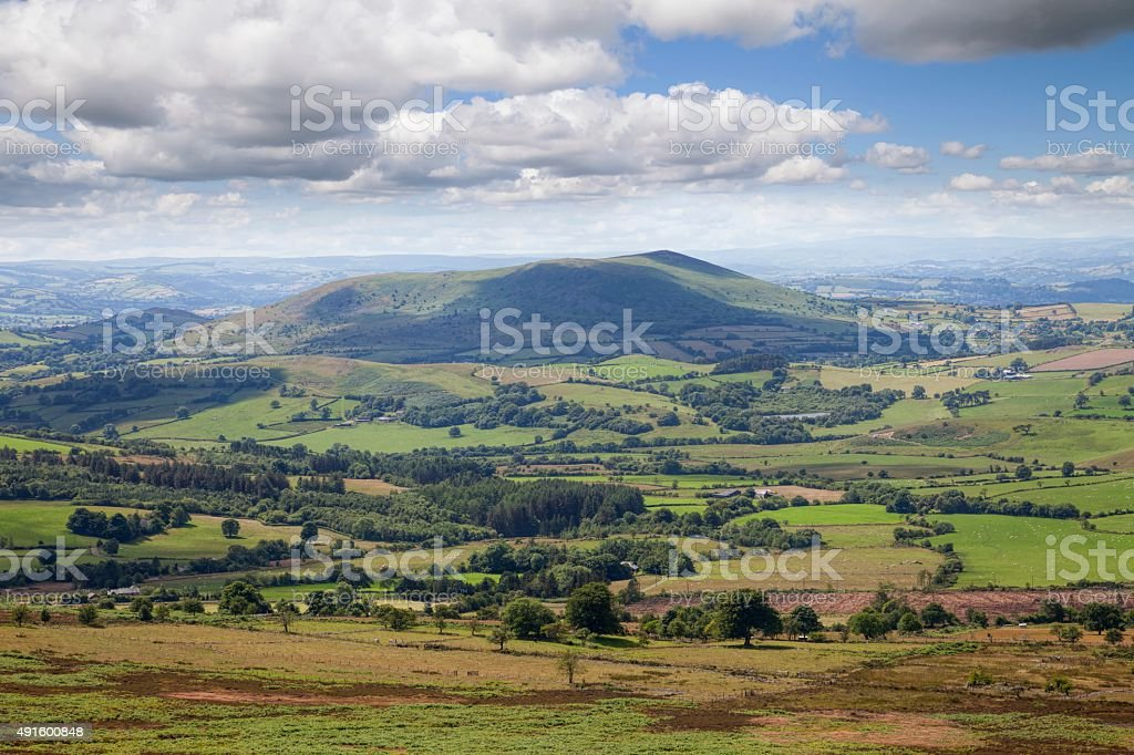 Shropshire countryside, England stock photo