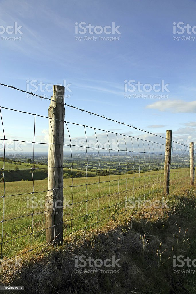 Shropshire Landscape royalty-free stock photo