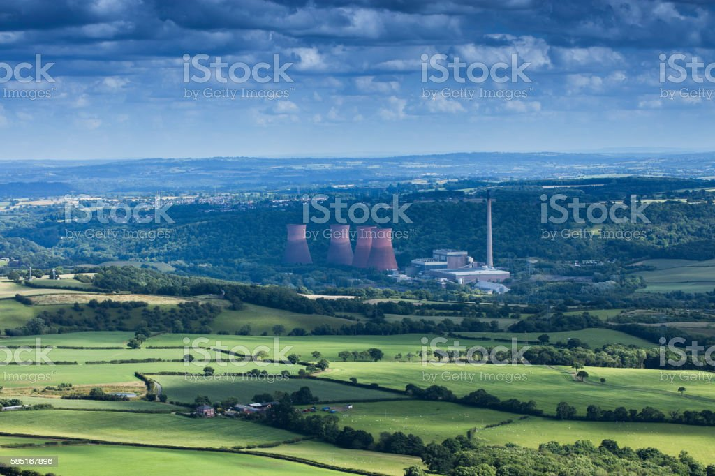 Shropshire stock photo