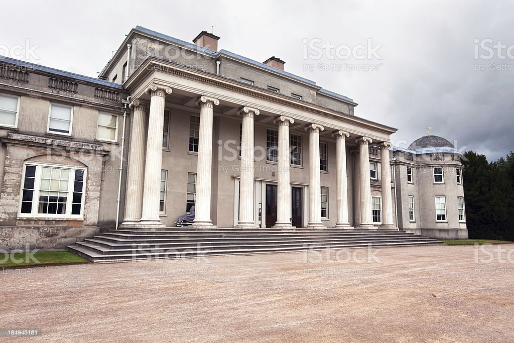 Shugborough Hall in Milford, Staffordshire, England stock photo