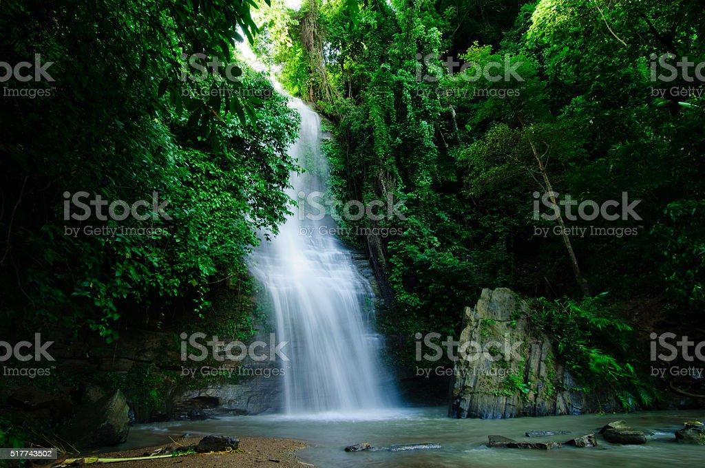 Shuknachara Waterfall stock photo
