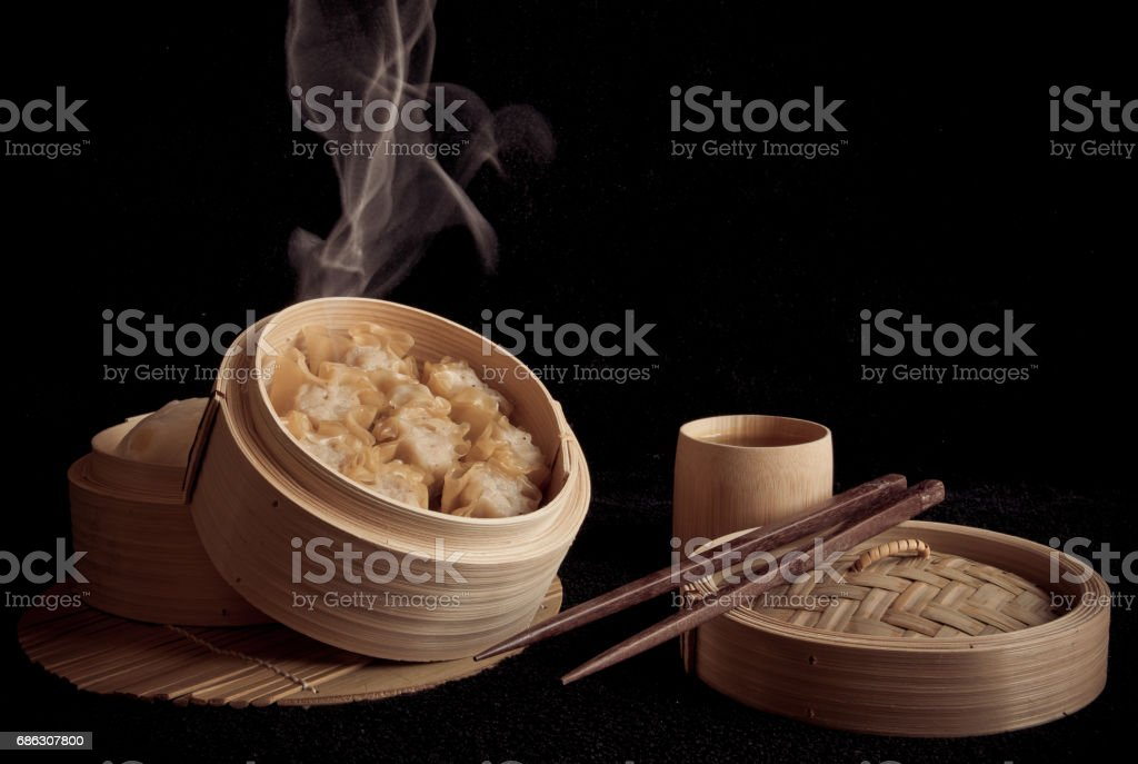Shumai chinese food. stock photo