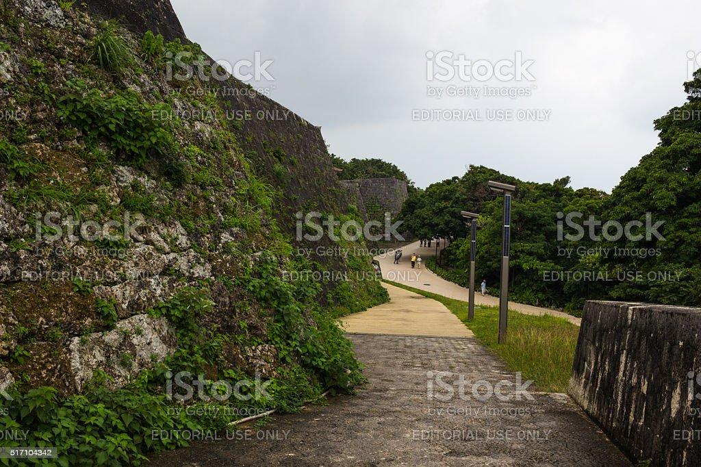 Shuri Castle at Okinawa Island, Japan stock photo