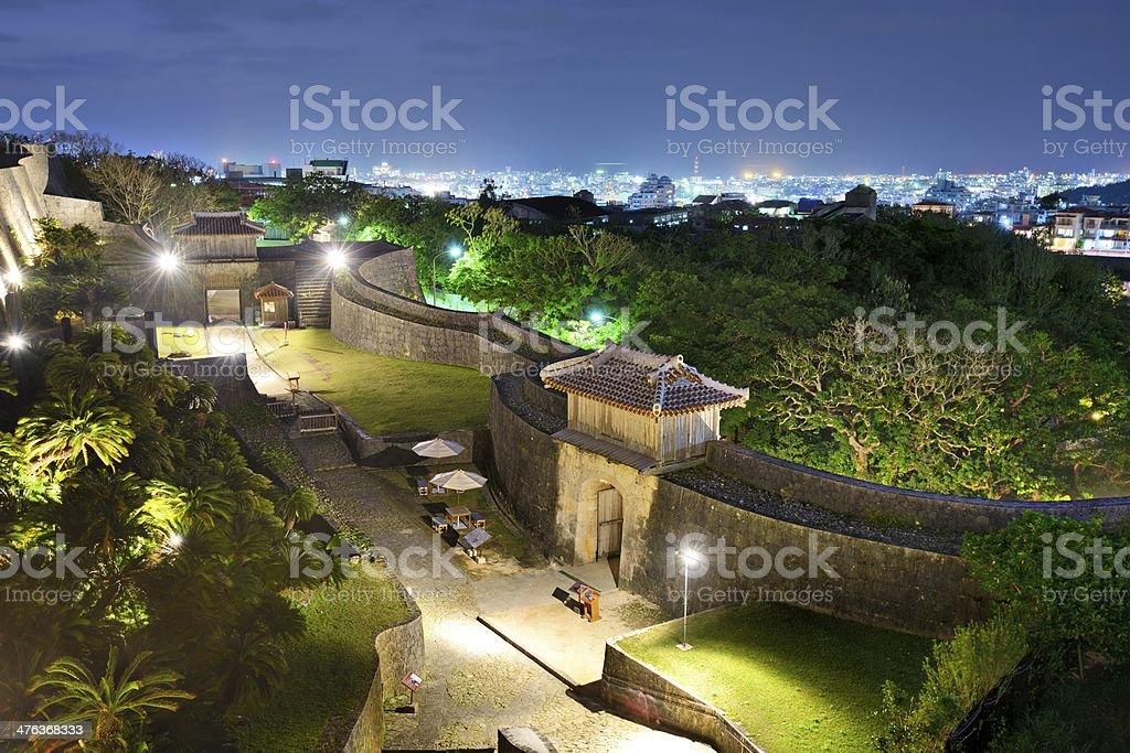 Shuri Castle in Okinawa, Japan stock photo