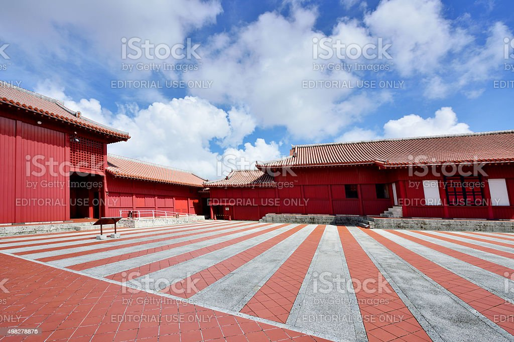 Shuri Castle, Naha, Okinawa, Japan stock photo
