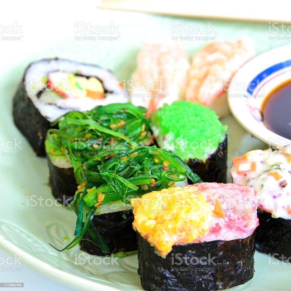 Shushi Japanese Food royalty-free stock photo