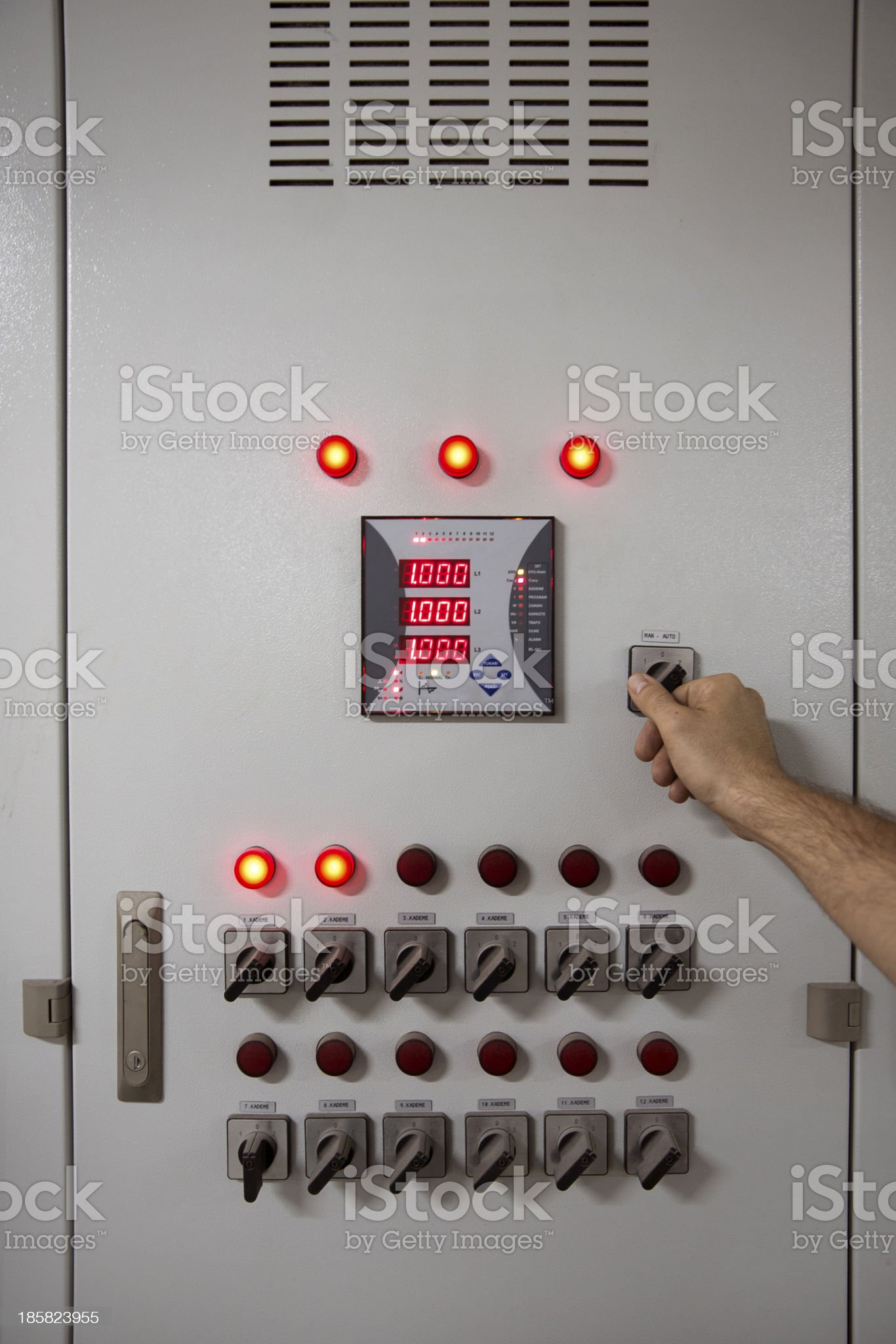 Shut Down The System royalty-free stock photo
