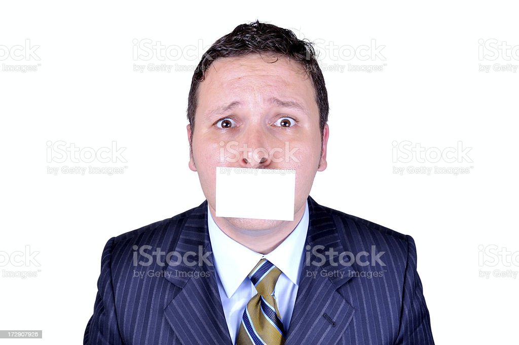 shut up and take this list royalty-free stock photo