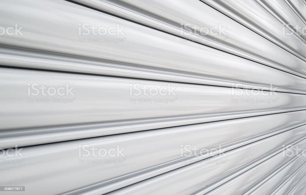 Shutter door pattern stock photo