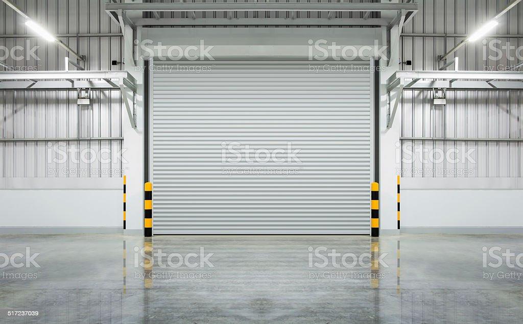 Shutter door stock photo