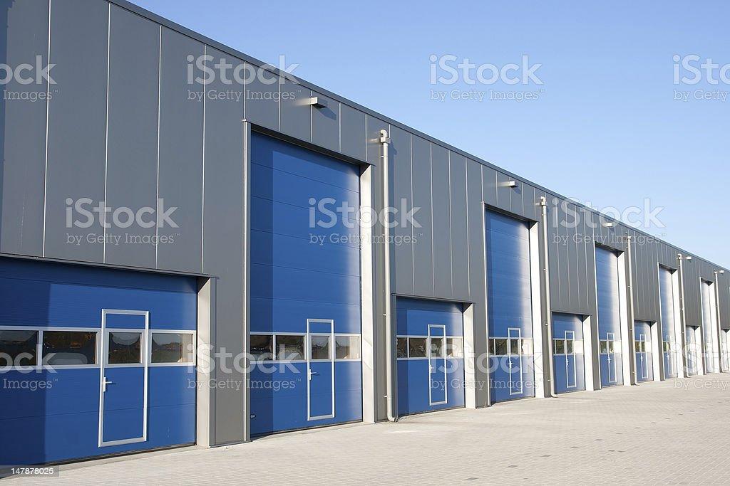 Shutter doors royalty-free stock photo