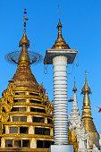 Shwedagon Pagoda Complex - Yangon- Myanmar