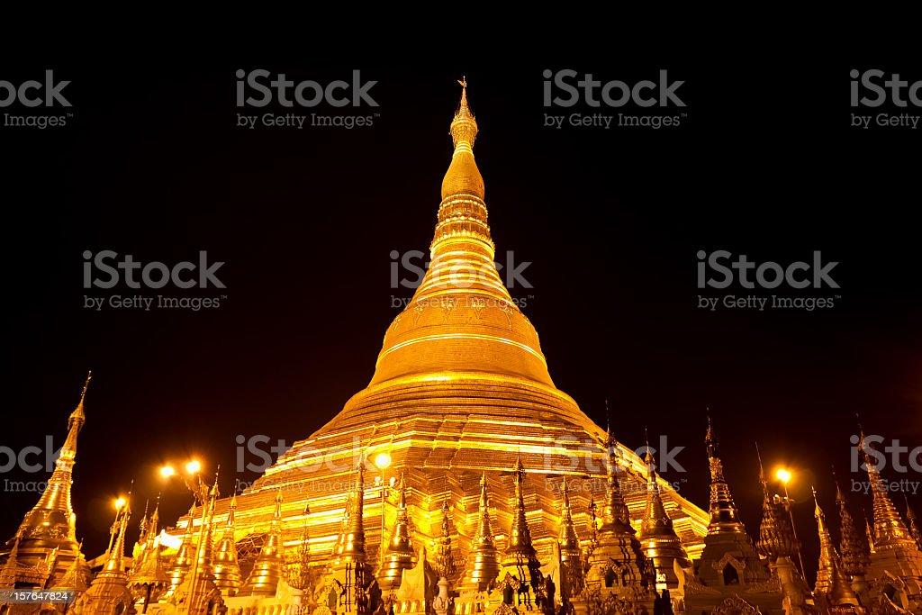 Shwedagon Pagoda, Myanmar royalty-free stock photo