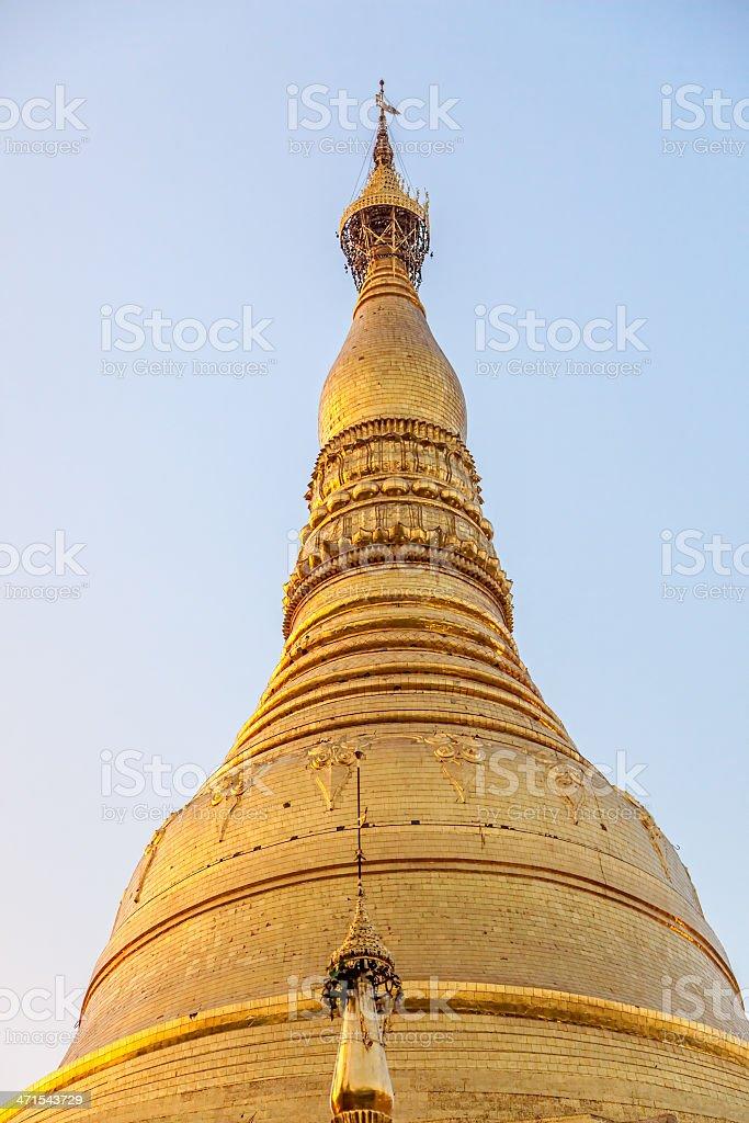 Shwedagon Pagoda royalty-free stock photo