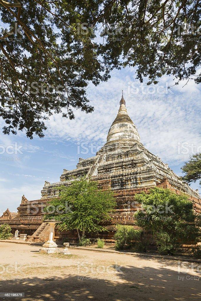 Shwesandaw Pagoda stock photo