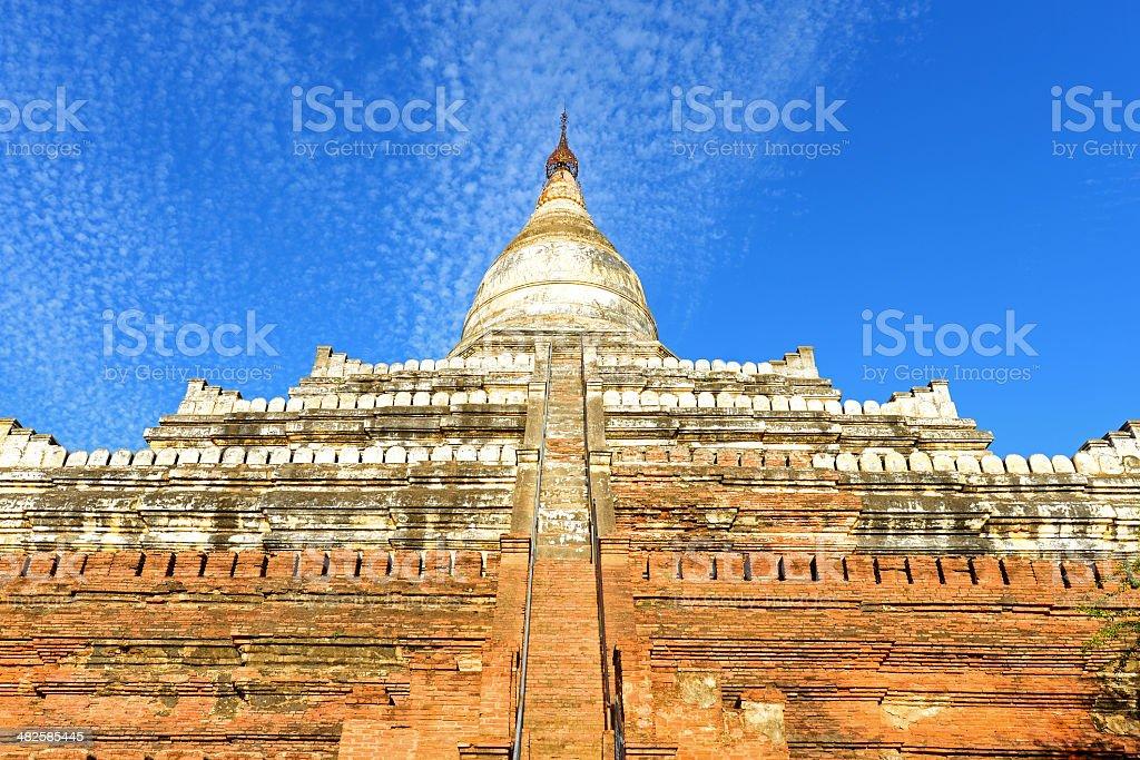 Shwesandaw Paya, Bagan stock photo