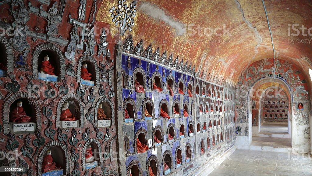 Shweyanpyay Monastery, Nyaung Shwe, Myanmar stock photo