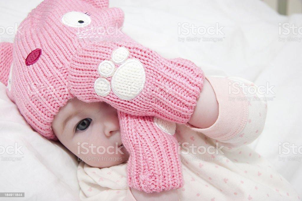 Shy Baby royalty-free stock photo