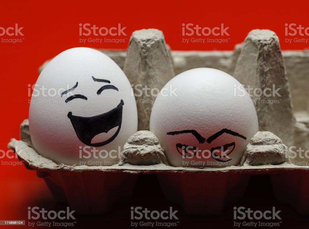 shy egg royalty-free stock photo