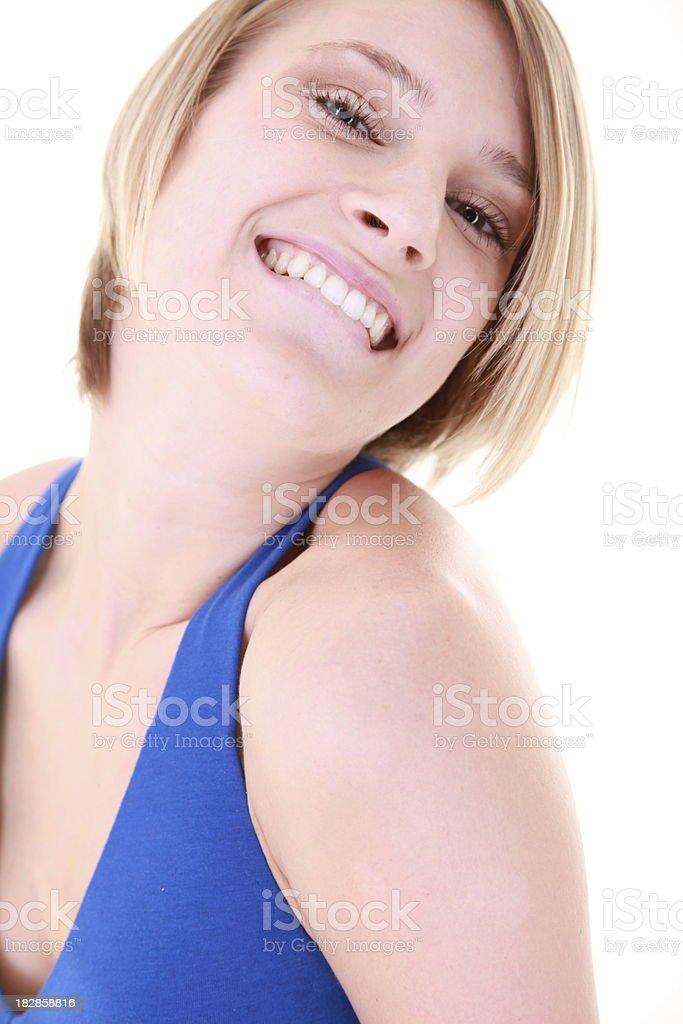 Tímido personalidad foto de stock libre de derechos