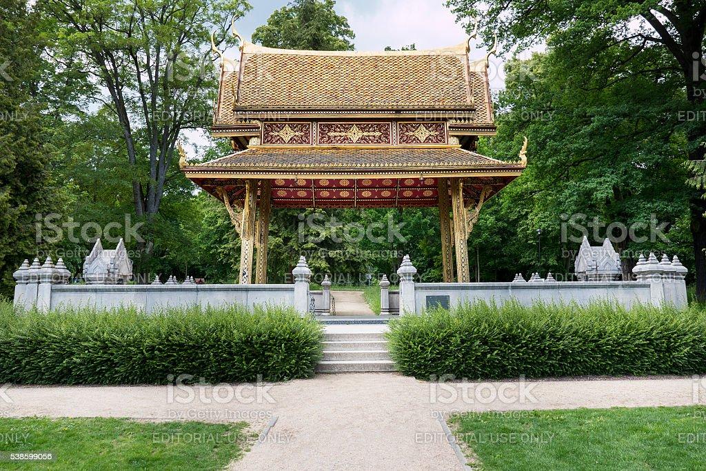 Siamesischer Tempel (Sala-Thai I), Bad Homburg, Germany stock photo