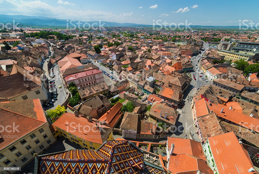 Sibiu, Hermannstadt, Romania stock photo