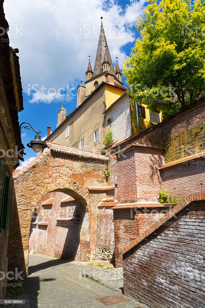 Sibiu, Hermannstadt, Romania stock photo