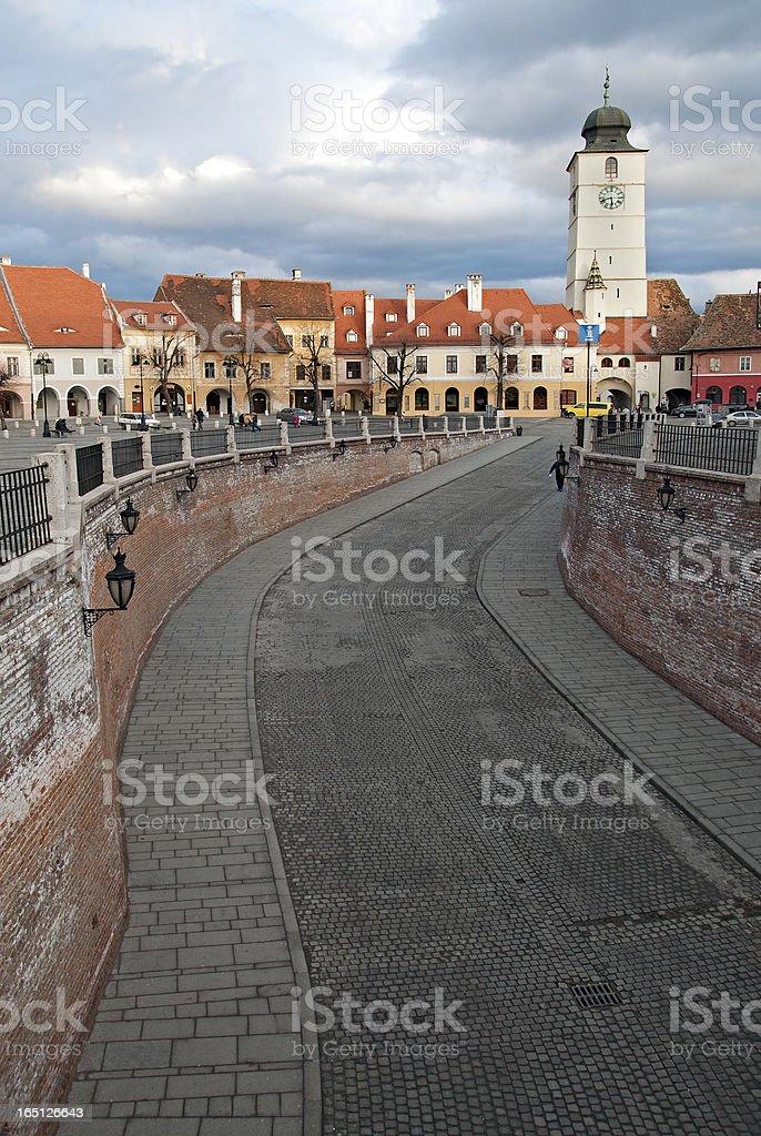 Sibiu Romania royalty-free stock photo