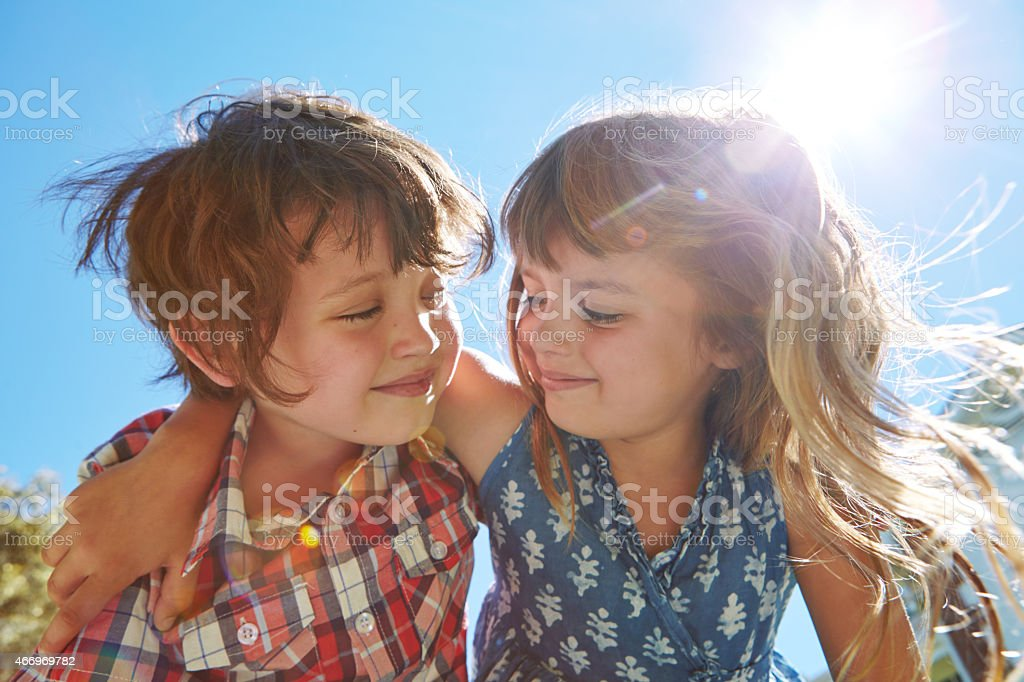 Sibling sentiment stock photo