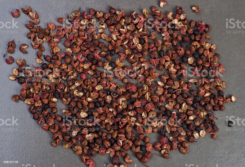 Sichuan pimienta foto de stock libre de derechos