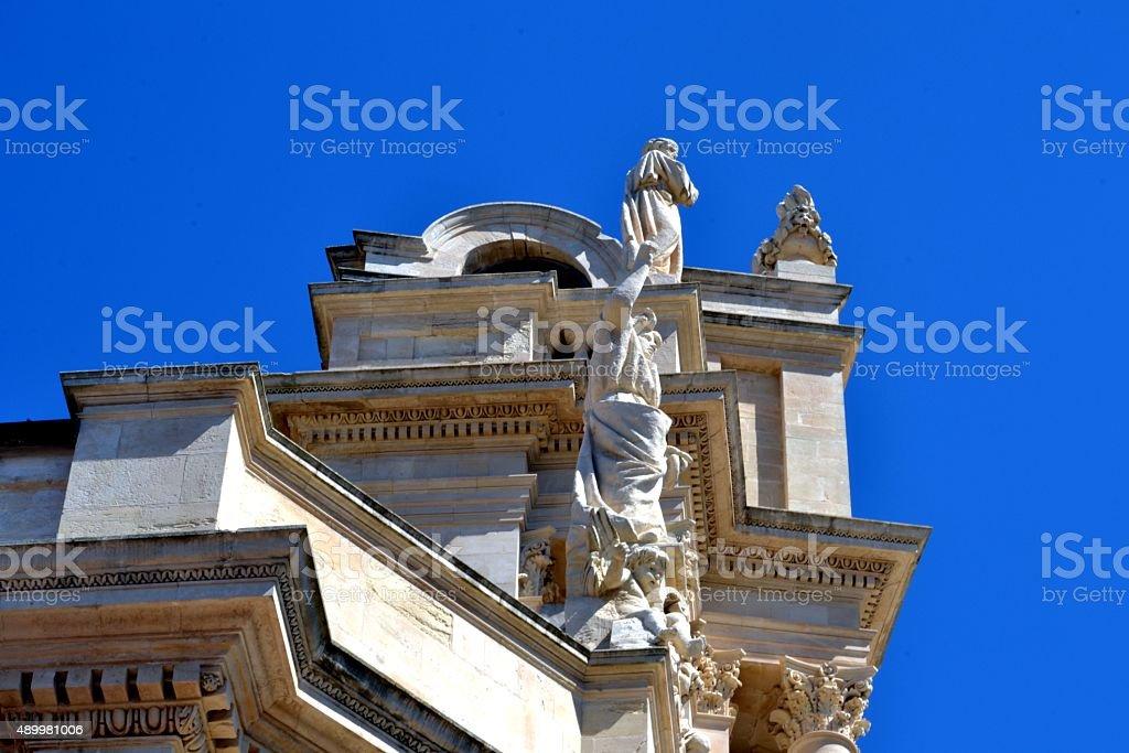 Sicilia, Modica's architecture stock photo