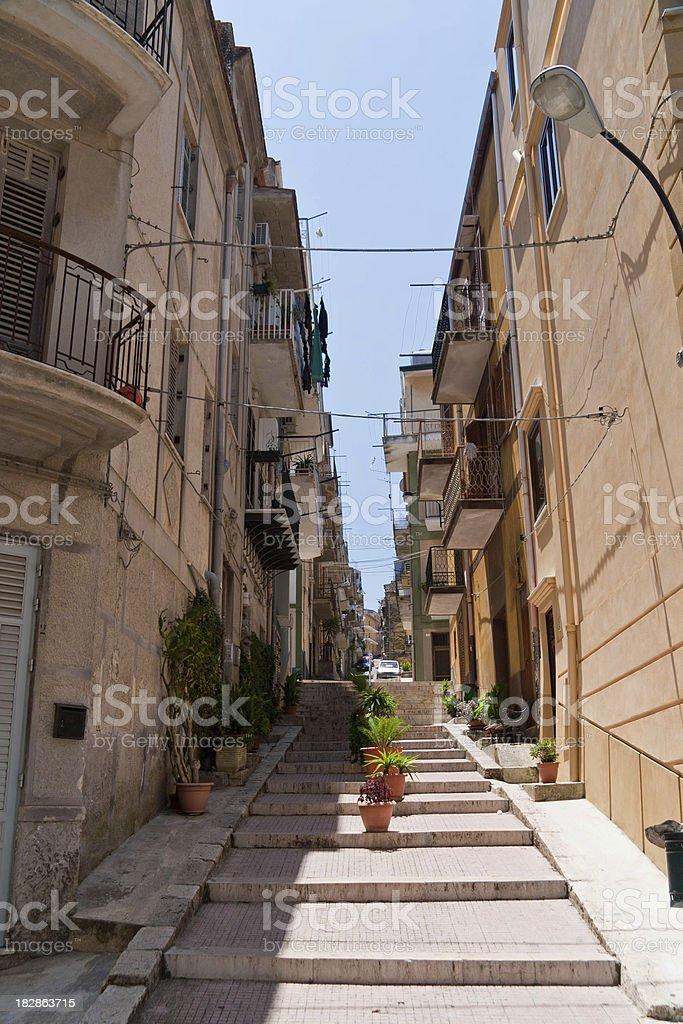 Sicily city royalty-free stock photo