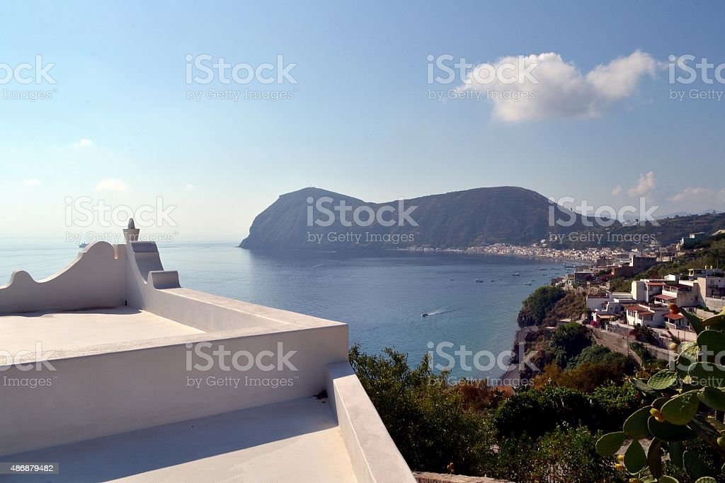 Sicily, Italy. Isole Eolie stock photo