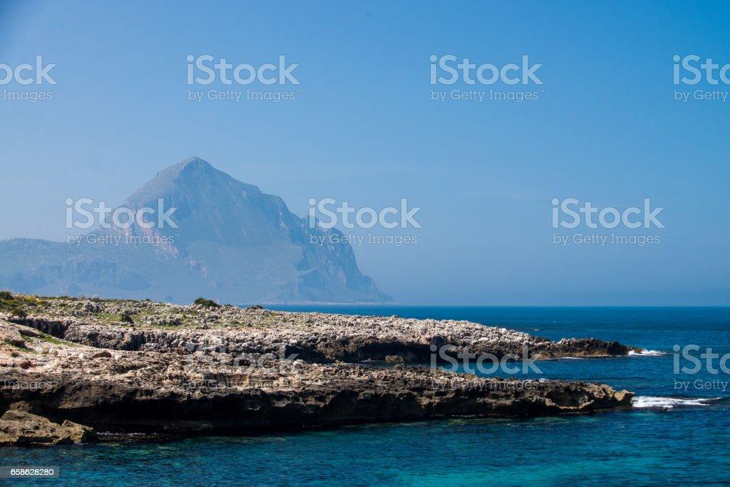 Sicily stock photo