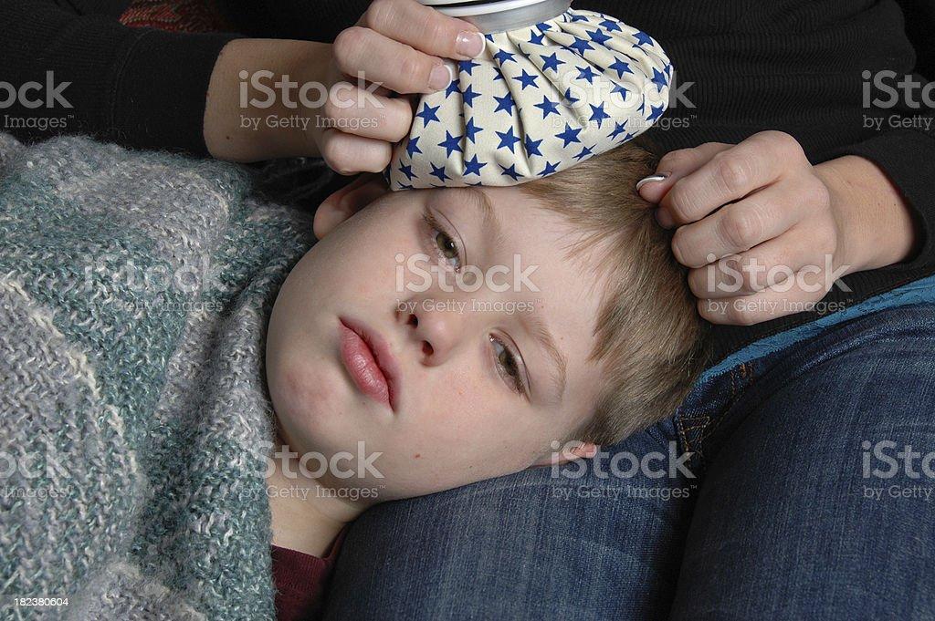 Sick Boy royalty-free stock photo